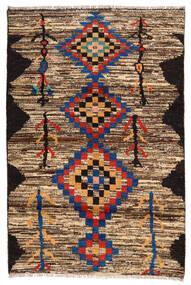 Moroccan Berber - Afghanistan Dywan 118X178 Nowoczesny Tkany Ręcznie Ciemnobrązowy/Brązowy (Wełna, Afganistan)
