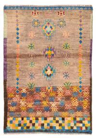 Moroccan Berber - Afghanistan Dywan 88X127 Nowoczesny Tkany Ręcznie Jasnobrązowy/Jasnoróżowy (Wełna, Afganistan)
