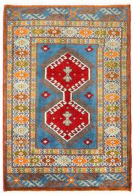 Turkmeński Dywan 57X60 Orientalny Tkany Ręcznie Kwadratowy Ciemnoszary/Ciemnobeżowy (Wełna, Persja/Iran)