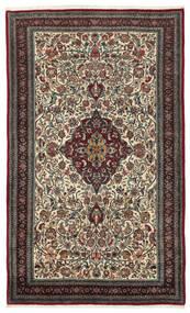 Bidżar Dywan 140X224 Orientalny Tkany Ręcznie Ciemnobrązowy/Jasnoszary (Wełna, Persja/Iran)