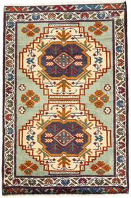 Turkmeński Dywan 59X89 Orientalny Tkany Ręcznie Ciemnoszary/Beżowy (Wełna, Persja/Iran)