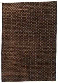 Moroccan Berber - Afghanistan Dywan 197X283 Nowoczesny Tkany Ręcznie Ciemnobrązowy/Brązowy (Wełna, Afganistan)