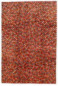 Moroccan Berber - Afghanistan Dywan 192X286 Nowoczesny Tkany Ręcznie Rdzawy/Czerwony/Czerwony (Wełna, Afganistan)