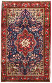 Tebriz Dywan 100X165 Orientalny Tkany Ręcznie Rdzawy/Czerwony/Ciemnoszary (Wełna, Persja/Iran)