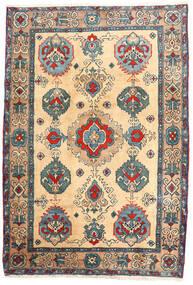 Ardabil Dywan 114X168 Orientalny Tkany Ręcznie Beżowy/Jasnobrązowy (Wełna, Persja/Iran)