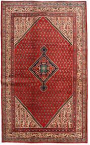 Saruk Mir Dywan 128X210 Orientalny Tkany Ręcznie Ciemnoczerwony/Rdzawy/Czerwony (Wełna, Persja/Iran)