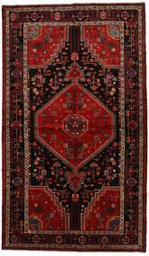 Toiserkan Dywan 140X243 Orientalny Tkany Ręcznie Ciemnobrązowy/Ciemnoczerwony (Wełna, Persja/Iran)