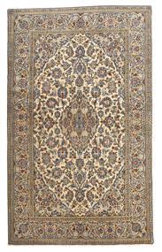 Keszan Dywan 128X210 Orientalny Tkany Ręcznie Beżowy/Ciemnoszary (Wełna, Persja/Iran)