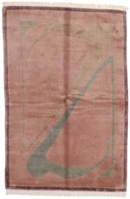 Himalaya Dywan 165X245 Nowoczesny Tkany Ręcznie Jasnoróżowy/Ciemnoczerwony (Wełna, Indie)