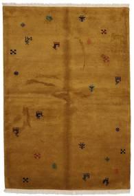 Gabbeh Indie Dywan 176X246 Nowoczesny Tkany Ręcznie Brązowy (Wełna, Indie)