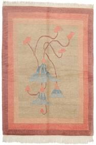 Himalaya Dywan 170X236 Nowoczesny Tkany Ręcznie Jasnobrązowy/Jasnoróżowy (Wełna, Indie)