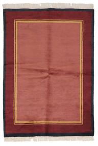 Gabbeh Indie Dywan 137X196 Nowoczesny Tkany Ręcznie Czerwony/Ciemnoczerwony (Wełna, Indie)
