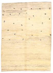 Gabbeh (Persja) Dywan 169X236 Nowoczesny Tkany Ręcznie Beżowy/Żółty (Wełna, Persja/Iran)