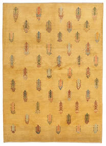 Gabbeh (Persja) Dywan 145X203 Nowoczesny Tkany Ręcznie Jasnobrązowy (Wełna, Persja/Iran)