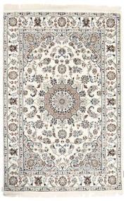 Nain Indie Dywan 120X182 Orientalny Tkany Ręcznie Beżowy/Jasnoszary ( Indie)