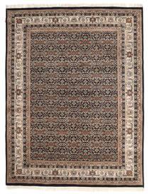 Nain Indie Dywan 194X250 Orientalny Tkany Ręcznie Jasnoszary/Beżowy ( Indie)