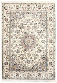 Nain Indie Dywan 170X242 Orientalny Tkany Ręcznie Beżowy/Jasnoszary ( Indie)