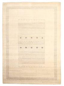 Gabbeh Loribaft Dywan 199X279 Nowoczesny Tkany Ręcznie Beżowy (Wełna, Indie)