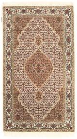 Tebriz Royal Dywan 92X162 Orientalny Tkany Ręcznie Beżowy/Brązowy ( Indie)