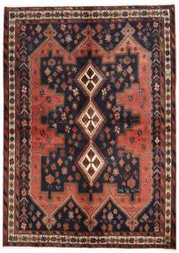 Afszar Dywan 160X225 Orientalny Tkany Ręcznie Ciemnoszary/Ciemnoczerwony (Wełna, Persja/Iran)