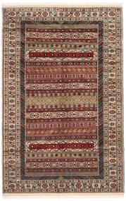 Turkmeński Dywan 162X246 Orientalny Tkany Ręcznie Ciemnobrązowy/Jasnobrązowy (Wełna, Persja/Iran)