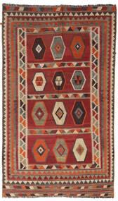 Kilim Vintage Dywan 133X232 Orientalny Tkany Ręcznie Ciemnoczerwony/Jasnobrązowy/Ciemnobrązowy (Wełna, Persja/Iran)