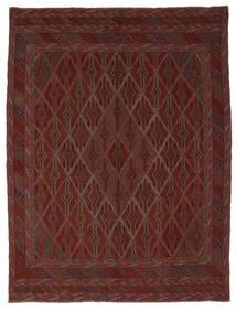 Kilim Golbarjasta Dywan 212X280 Orientalny Tkany Ręcznie Czarny (Wełna, Afganistan)