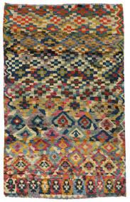 Moroccan Berber - Afghanistan Dywan 117X182 Nowoczesny Tkany Ręcznie Ciemnoszary/Jasnoszary (Wełna, Afganistan)