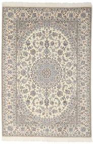Nain 9La Dywan 200X301 Orientalny Tkany Ręcznie Ciemnoszary/Jasnoszary (Wełna/Jedwab, Persja/Iran)