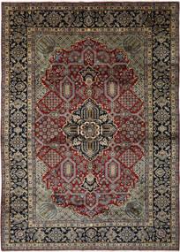 Nadżafabad Dywan 293X408 Orientalny Tkany Ręcznie Czarny/Ciemnobrązowy Duży (Wełna, Persja/Iran)