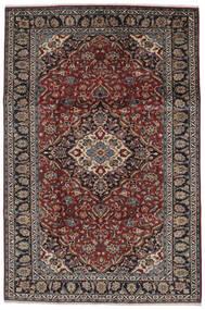 Nadżafabad Dywan 210X314 Orientalny Tkany Ręcznie Czarny/Ciemnobrązowy (Wełna, Persja/Iran)