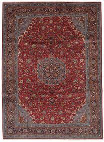 Saruk Dywan 219X300 Orientalny Tkany Ręcznie Czarny/Ciemnobrązowy (Wełna, Persja/Iran)