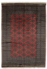 Pakistański Bucharski 3Ply Dywan 227X320 Orientalny Tkany Ręcznie Czarny/Ciemnobrązowy (Wełna, Pakistan)