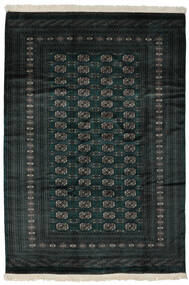 Pakistański Bucharski 2Ply Dywan 190X277 Orientalny Tkany Ręcznie Czarny (Wełna, Pakistan)