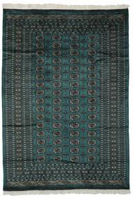 Pakistański Bucharski 2Ply Dywan 180X255 Orientalny Tkany Ręcznie Czarny/Ciemnozielony (Wełna, Pakistan)