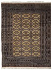 Pakistański Bucharski 2Ply Dywan 191X244 Orientalny Tkany Ręcznie Czarny/Ciemnobrązowy (Wełna, Pakistan)