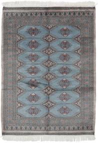 Pakistański Bucharski 3Ply Dywan 126X170 Orientalny Tkany Ręcznie Czarny/Ciemnoszary (Wełna, Pakistan)