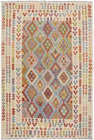 Kilim Afgan Old Style Dywan 198X293 Orientalny Tkany Ręcznie (Wełna, Afganistan)