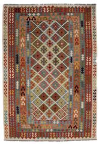 Kilim Afgan Old Style Dywan 205X297 Orientalny Tkany Ręcznie (Wełna, Afganistan)