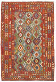 Kilim Afgan Old Style Dywan 198X292 Orientalny Tkany Ręcznie (Wełna, Afganistan)