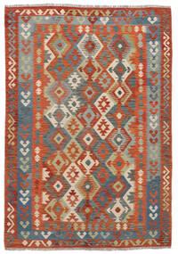 Kilim Afgan Old Style Dywan 170X244 Orientalny Tkany Ręcznie (Wełna, Afganistan)