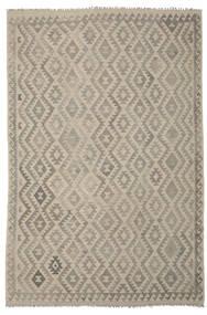 Kilim Afgan Old Style Dywan 204X302 Orientalny Tkany Ręcznie (Wełna, Afganistan)