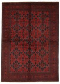 Afgan Khal Mohammadi Dywan 165X240 Orientalny Tkany Ręcznie Czarny/Ciemnoczerwony (Wełna, Afganistan)