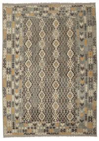 Kilim Afgan Old Style Dywan 252X351 Orientalny Tkany Ręcznie Duży (Wełna, Afganistan)