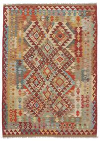 Kilim Afgan Old Style Dywan 125X175 Orientalny Tkany Ręcznie (Wełna, Afganistan)