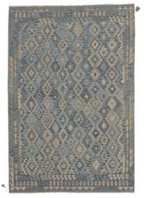 Kilim Afgan Old Style Dywan 201X296 Orientalny Tkany Ręcznie (Wełna, Afganistan)