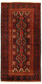 Beludż Dywan 96X193 Orientalny Tkany Ręcznie (Wełna, Persja/Iran)