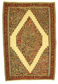 Kilim Senneh Dywan 198X292 Orientalny Tkany Ręcznie (Wełna, Persja/Iran)